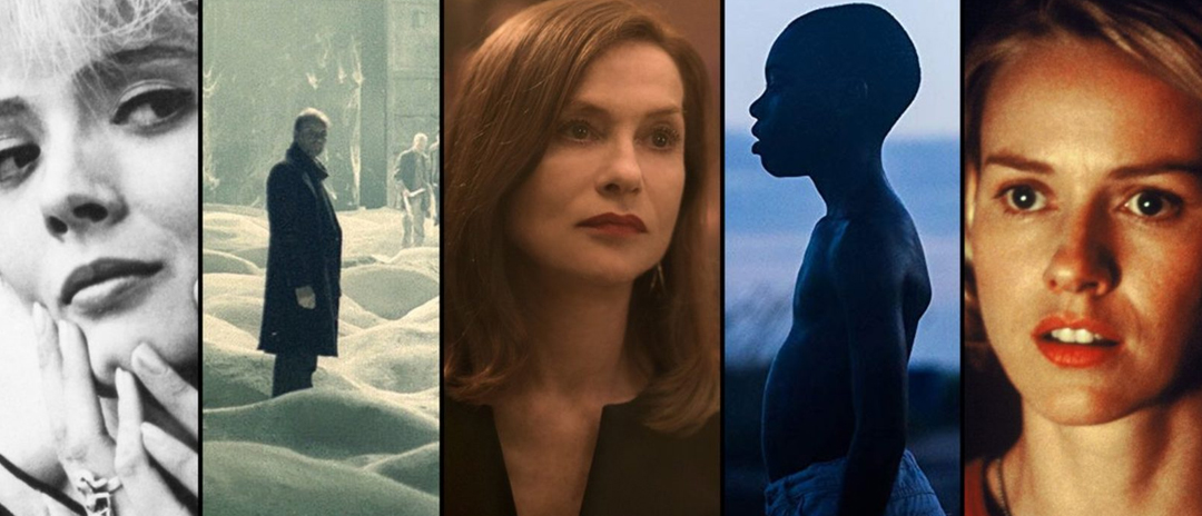 a series of still images from Film at Lincoln Center_s summer screenings
