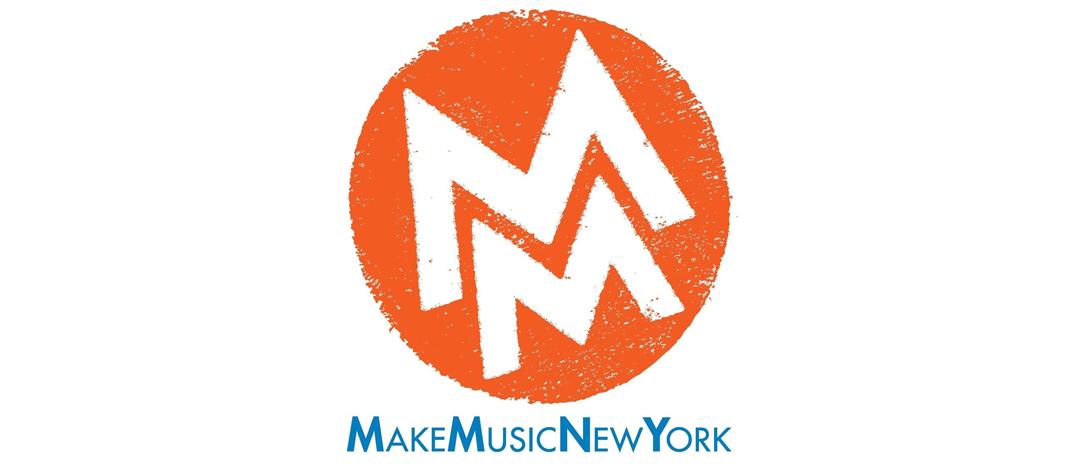 Make Music New York logo lockup