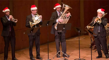 Holiday Brass from The New York Philharmonic