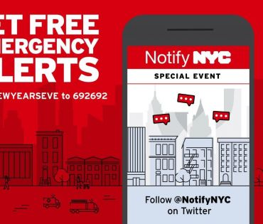 New Year's Eve Notify NYC