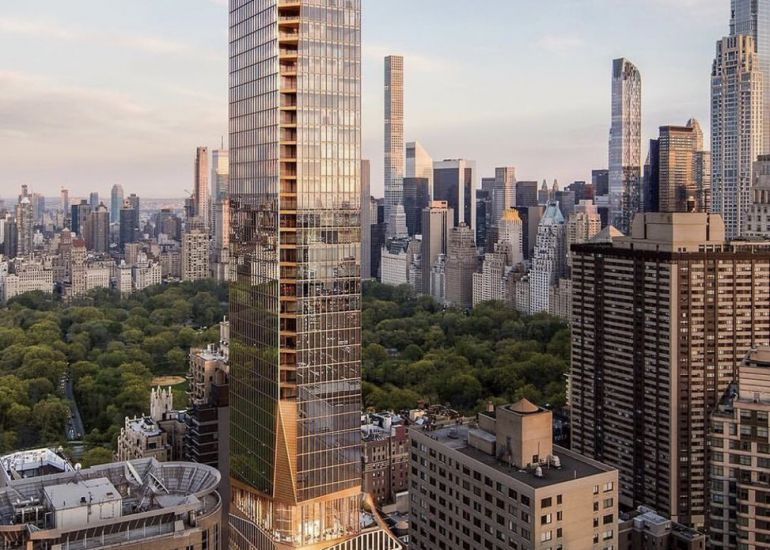 Construction Look Ahead for 50 West 66th Street Project 1.15.19