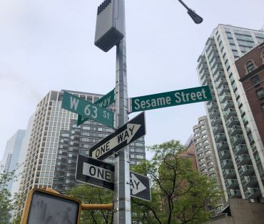 Sesame Street in Lincoln Square