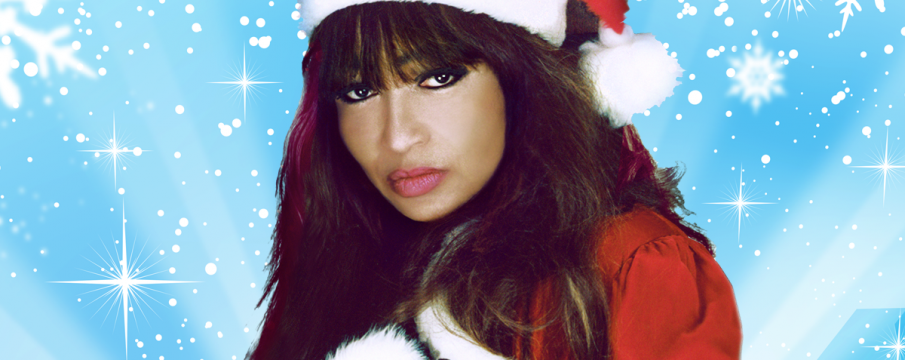 Ronnie Spector promotional holiday photo
