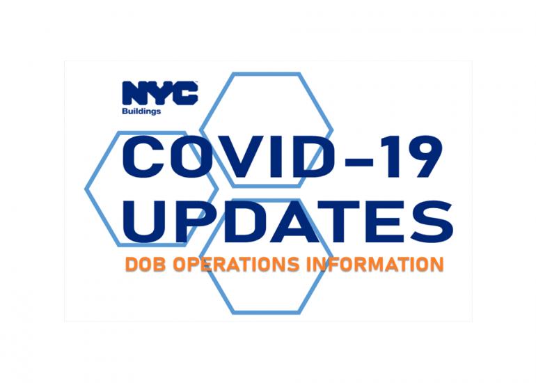 DOB & Suspension of Non-Essential Construction: COVID-19