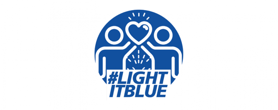 Light It Blue Campaign for COVID-19