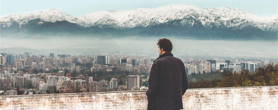 Still from the documentary film Santiago, Italia