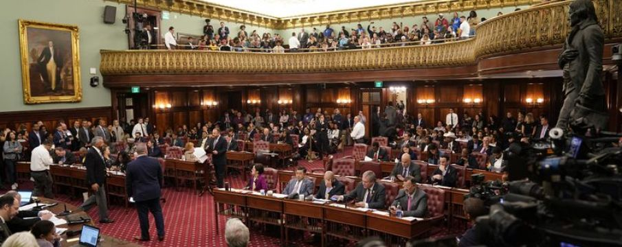 New York City Council meeting