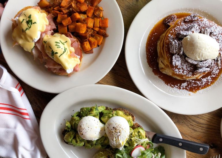 Back to Brunching in Lincoln Square