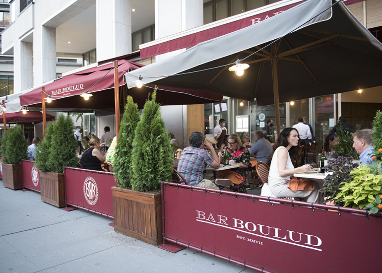 Outdoor Dining Extended Year-Round