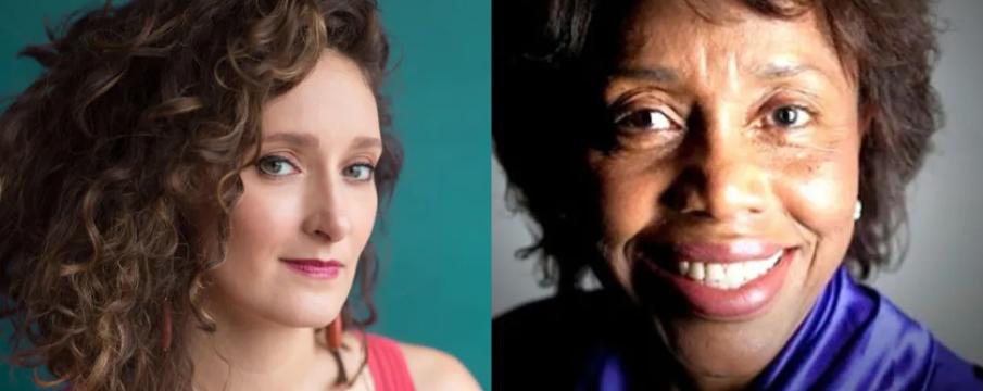 headshots of composers Zosha Di Castri and Tania Leon