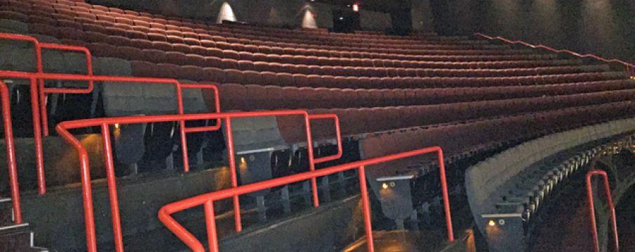 empty theater in amc loews 13