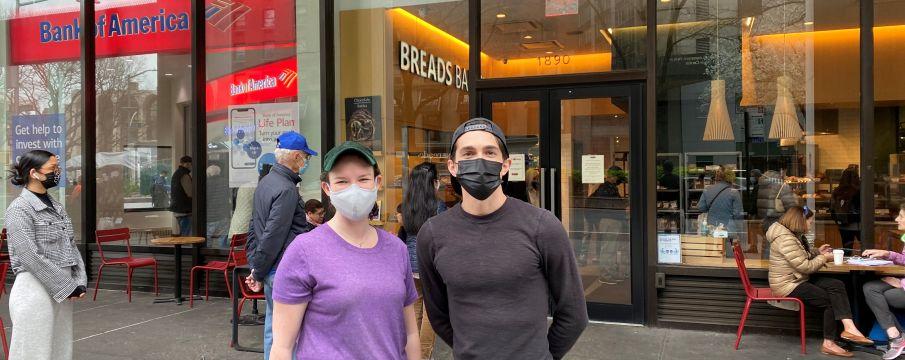 Meet Sarah & Justin at Breads Bakery
