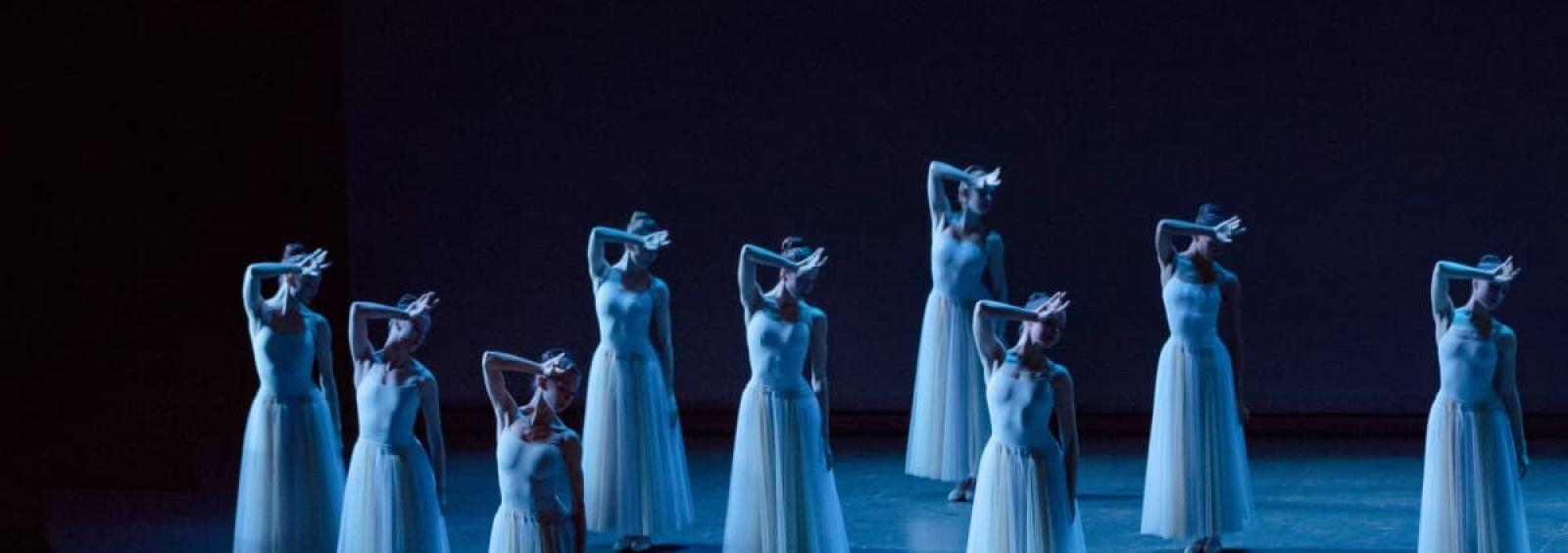 new york city ballet dancers on stage