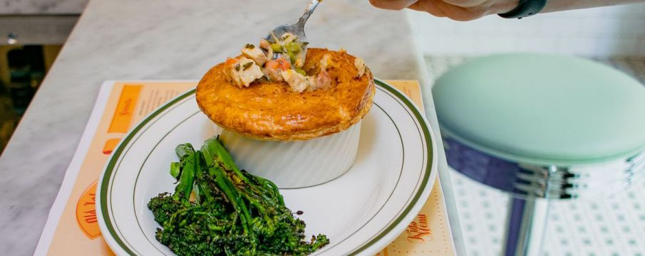 Chicken Pot Pie from Old John's Diner from Eater NY