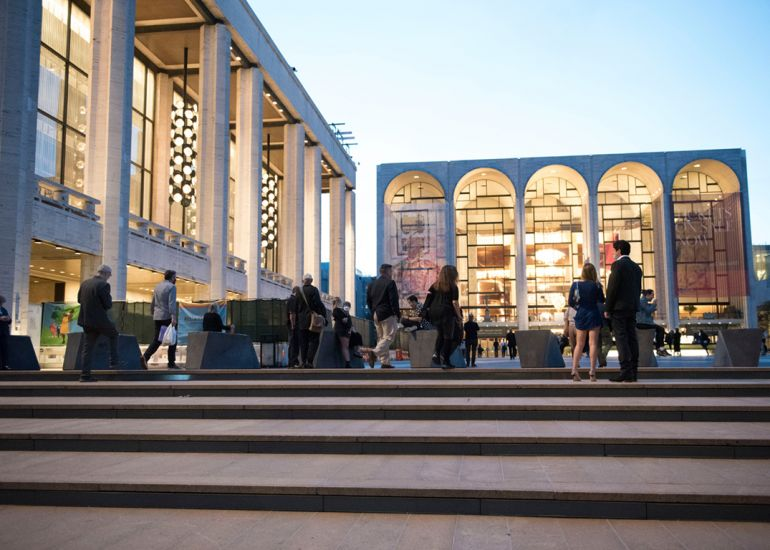 Arts & Culture Center of NYC, Lincoln Square, Welcomes Return of World Class Live Performances, New Restaurant Openings & Reopenings