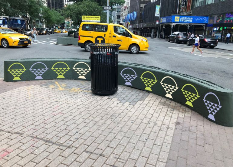 Lincoln Square's Broadway Mall Public Art Project