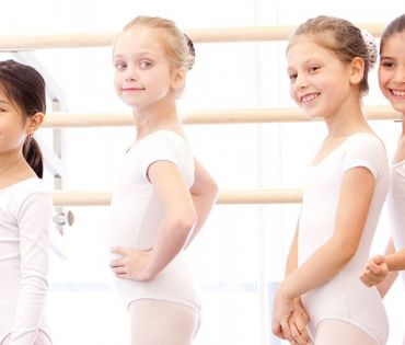 Little Dancers at The School of American Ballet