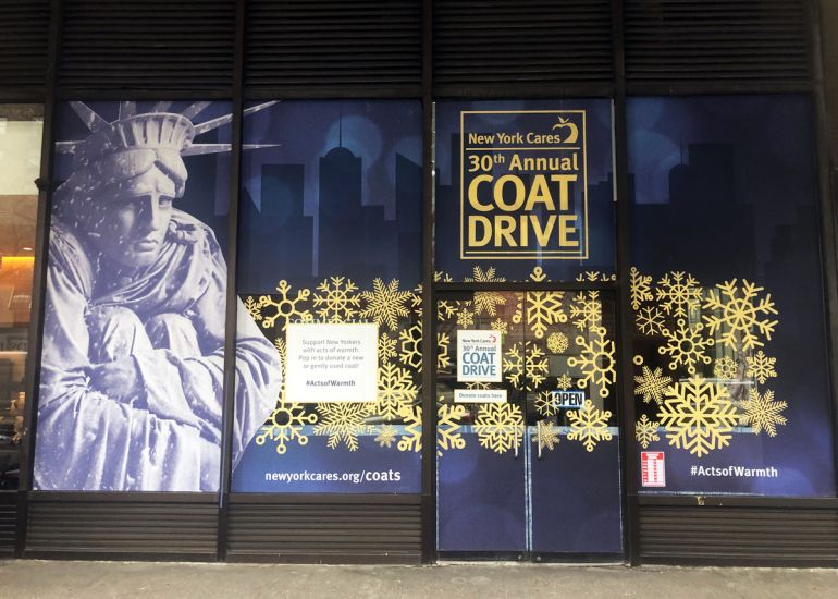 New York Cares Pop-Ups